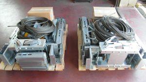 Arcate per ascensore imbancalate con tutti i componenti per l'installazione
