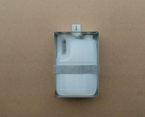 Supporto +contenitore olio 5 litri , per ascensore e per home lift